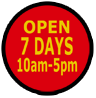 Open 7 Days a Week Crafts and Antiques
